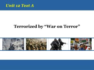 """Terrorized by """"War on Terror"""""""
