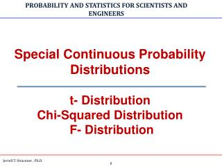 PROBABILITY AND STATISTICS FOR SCIENTISTS AND ENGINEERS