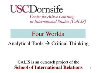 Analytical Tools  ? Critical Thinking