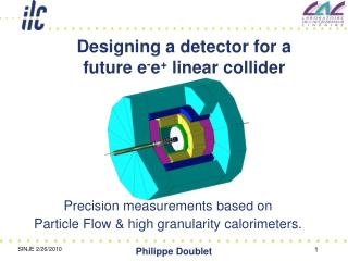 Designing a detector for a future e - e +  linear collider