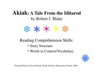 Akiak : A Tale From the Iditarod by Robert J. Blake