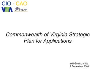Commonwealth of Virginia Strategic   Plan for Applications
