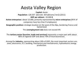 Aosta Valley Region