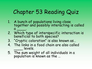 Chapter 53 Reading Quiz