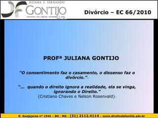 Divórcio – EC 66/2010