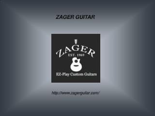 Acoustic Electric Guitar at Zagerguitar