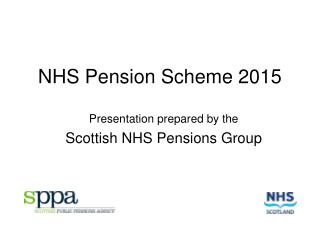 NHS Pension Scheme 2015