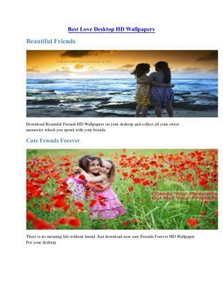 Best Love Desktop HD Wallpapers