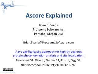 Ascore  Explained