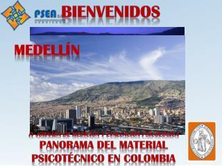 IV Jornada de Medición y Evaluación Psicológica Panorama del Material Psicotécnico en Colombia