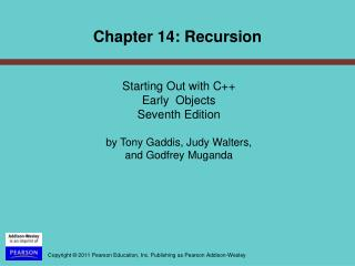 Starting Out with C++  Early  Objects  Seventh Edition