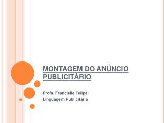 MONTAGEM DO AN NCIO PUBLICIT RIO
