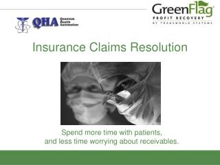 Insurance Claims Resolution