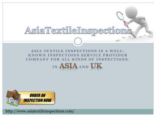 Pre Shipment Inspection In UK