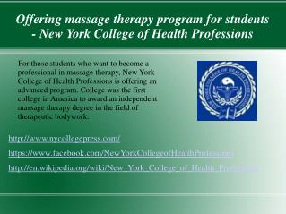 A leading holistic health care college