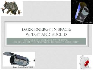 Dark Energy in Space:  WFIRST and Euclid