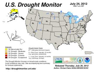 Agricultural Weather Assessments