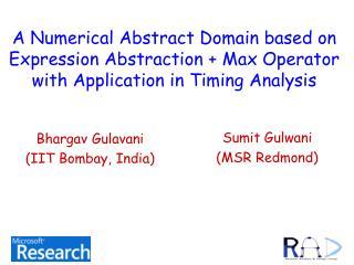 Sumit Gulwani (MSR Redmond)
