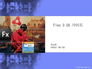 Flex 3 UX  가이드