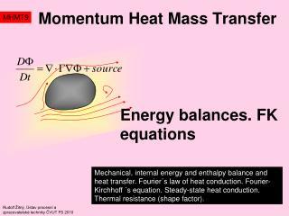 Momentum Heat Mass Transfer