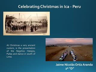 Celebrating Christmas in Ica - Peru