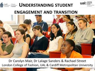 Understanding student engagement and  transition
