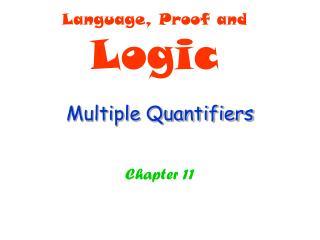 Multiple Quantifiers