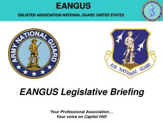 EANGUS Legislative Briefing