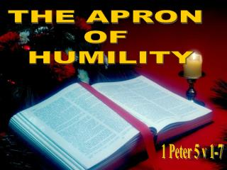 THE APRON  OF  HUMILITY