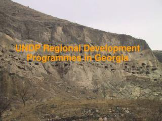 UNDP Regional Development Programmes in Georgia