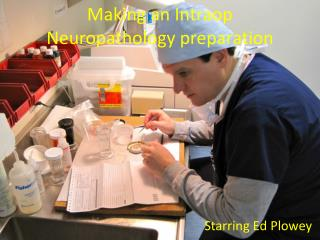 Making an Intraop Neuropathology preparation
