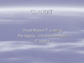 CLAUDIT