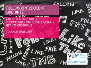 Follow  @nt2docent,  Like !  #Nt2 :