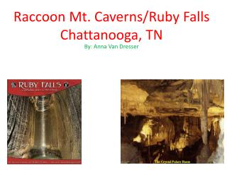 Raccoon Mt. Caverns/Ruby Falls Chattanooga, TN