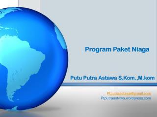 Program  Paket Niaga