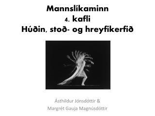 Mannsl�kaminn 4. kafli H��in, sto�- og hreyfikerfi�
