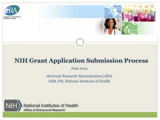 NIH Grant Application Submission Process
