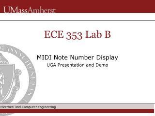 ECE 353 Lab B