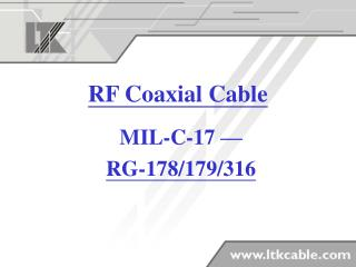 RF Coaxial Cable
