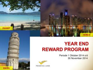 YEAR END REWARD PROGRAM
