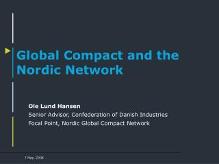 Global Compact and the Nordic Network