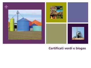 Certificati verdi e biogas