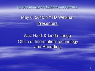NJ Department of Children and Families
