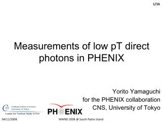 Measurements of low pT direct photons in PHENIX