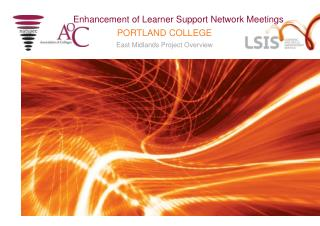 Enhancement of Learner Support Network Meetings
