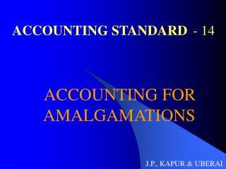 ACCOUNTING STANDARD - 14
