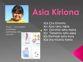 Asia  Kiriona