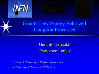 Geant4 Low Energy Polarized Compton Processes