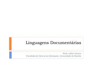 Linguagens Documentárias