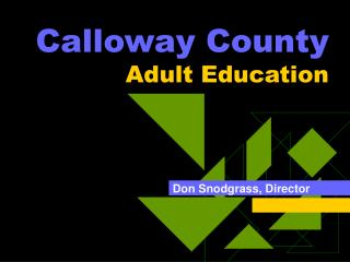 Calloway County Adult Education